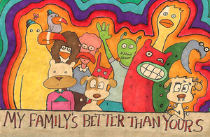 My family is better than yours by Scurrow