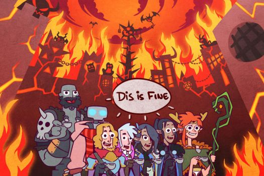 Critical Role Dis is fine by Takayuuki