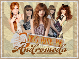 Bella Thorne PNG's by AndromedaRiddleBlack