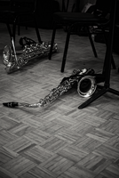Beached Saxophones by NyxVivendi