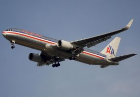 American Airlines Boeing 767 by shelbs2