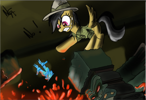 The Awesome Daring do by JuBrony