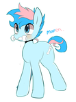 Blue chewings by Marenlicious