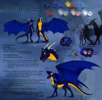 Duke Ironclaw Refsheet by Natoli
