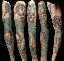 bird sleeve by bhbettie