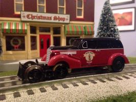 Boston and Maine Early Era Inspection Car by 736berkshire