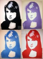 portrait of a girl multi by Freds-head