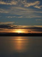 Sunset over the Firth by piglet365