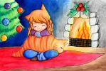 Christmas Gift: Cat's Cradle by CrenatedPineapple