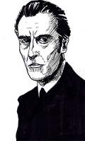 Christopher Lee by doctor-morbius
