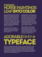 intro typeface by sounddecor