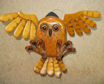 Owl Wall Hanging 02 by MagicCarillon