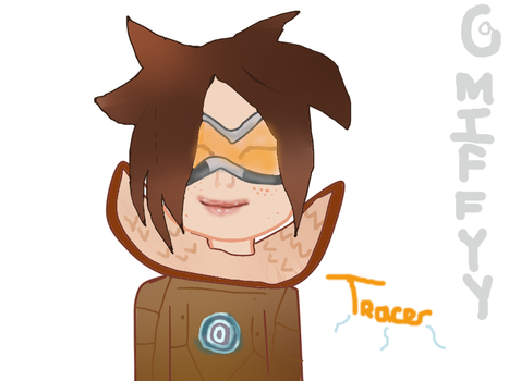 tracer queen by JellyzBeans