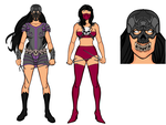 Mileena Re-Design by mkislife