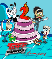 TUFF Puppy 2nd Anniversary by lunitaproductions