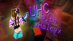 Minecraft Youtube Thumbnail: UHC with xHaleyx by YukinaKuran