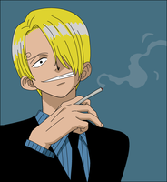 One Piece - Sanji by caromadden