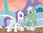 Minty and Scoops by MoogleyMog