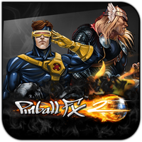 Pinball FX 2 Marvel by griddark