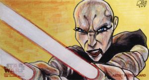 Clone Wars Return Ventress by tdastick