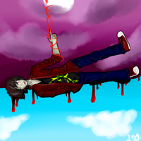 Marshall Lee: shooting the moon by pyriki