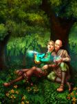 Eluvia and Solas by VenneccaBlind