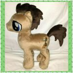 Pony - Dr. Whooves Plush Pony by mihijime