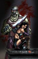 Hack N Slash colored by Dany-Morales