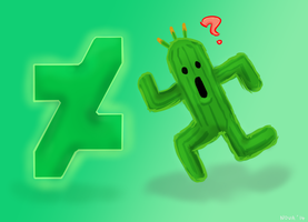 Cactuar, meet the new DA logo. by HyperionNova