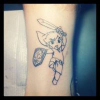 Link Tattoo by decaymyfriend