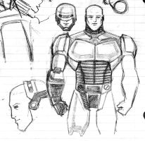 Robocop Sketches by Jochimus