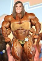 Kristen Graham Muscle Morph 8 by fatehound45
