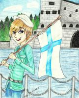 APH: Finland by flamingmarshmallows