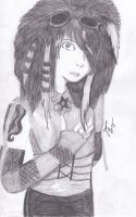 Dahvie Vanity Graphite by hisironicprincess