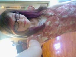 me in my dress at moms wedding by Yiu22