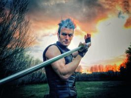 You got that right- Vergil - Devil May Cry Cosplay by LeonChiroCosplayArt
