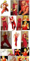Ken STREET FIGHTER Alpha Cosplay Collage by IronCobraAM