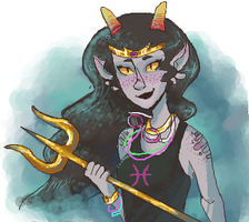 Iscribble Fef by GhostlyStatic