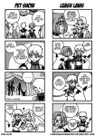 DC:P - 4koma Petshow 1 by Lorddragonmaster