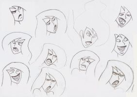 Shego face study 2 by tennente