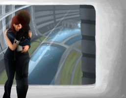 Mass Effect: Mother and Daughter by AlanaKai