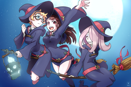 Little Witch Academia by Kawa-V