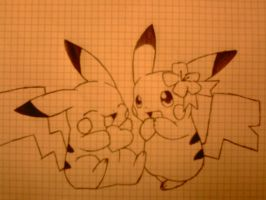 Pikachu by BlackShot96XD