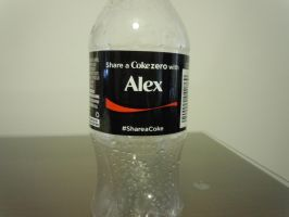 Alex's Coke Zero by onyxswami
