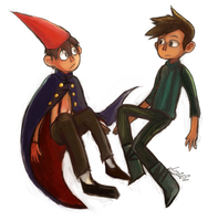 Wirt and Shay by tunaniverse