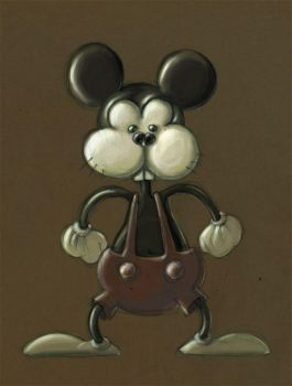mickey mouse meets frank by downtodusk