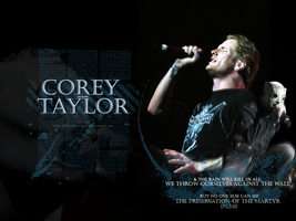 Corey Taylor wallpaper by AdrienneTyler