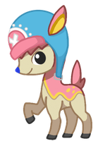 Chopper the blue-nosed Deerling by CuTTyCommando