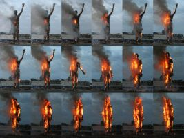 Wasteman Burning sequence by studio-octavio