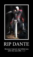 RIP Dante by MillyAuditore